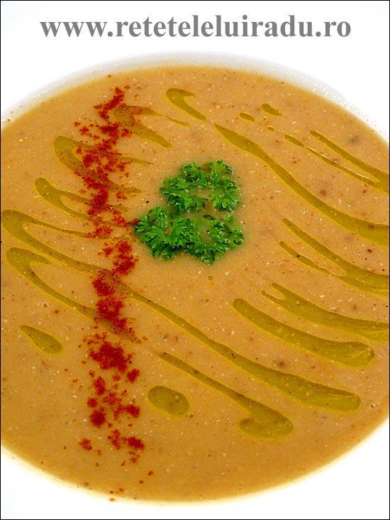 Supa de linte cu chimion cu lamaie