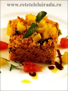 Salata picanta de cuscus cu fructe - Salata picanta de cuscus cu fructe 16 - Retetele lui Radu
