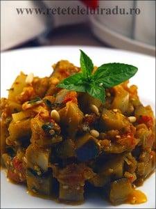 Caponata di melanzane alla siciliana - Caponata di melanzane alla siciliana 1 - Retetele lui Radu