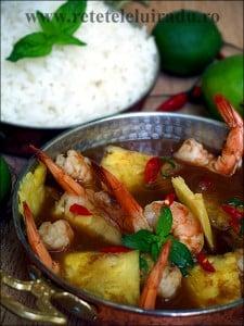 Gaeng som goong - Gaeng som goong - Curry thailandez acrisor de creveti 13 - Retetele lui Radu