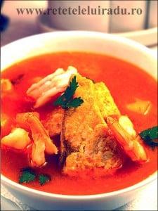 Supa de somon si creveti cu sofran - Supa de somon si creveti cu sofran 19 - Retetele lui Radu
