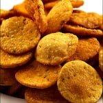 Besan Paare – Crackeri crocanti din faina de naut