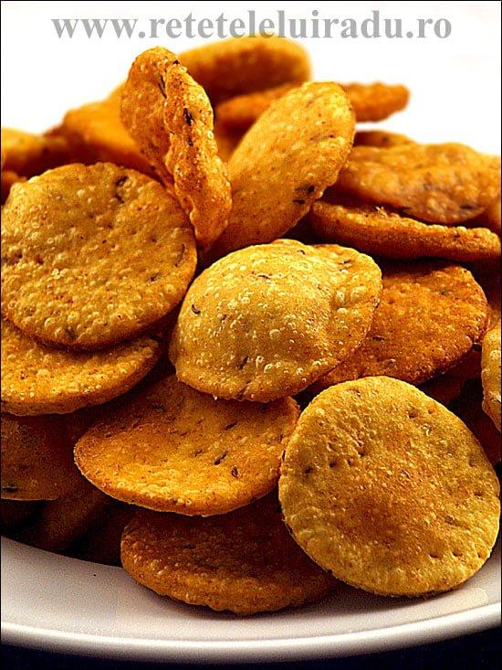 Besan Paare - Crackeri crocanti din faina de naut