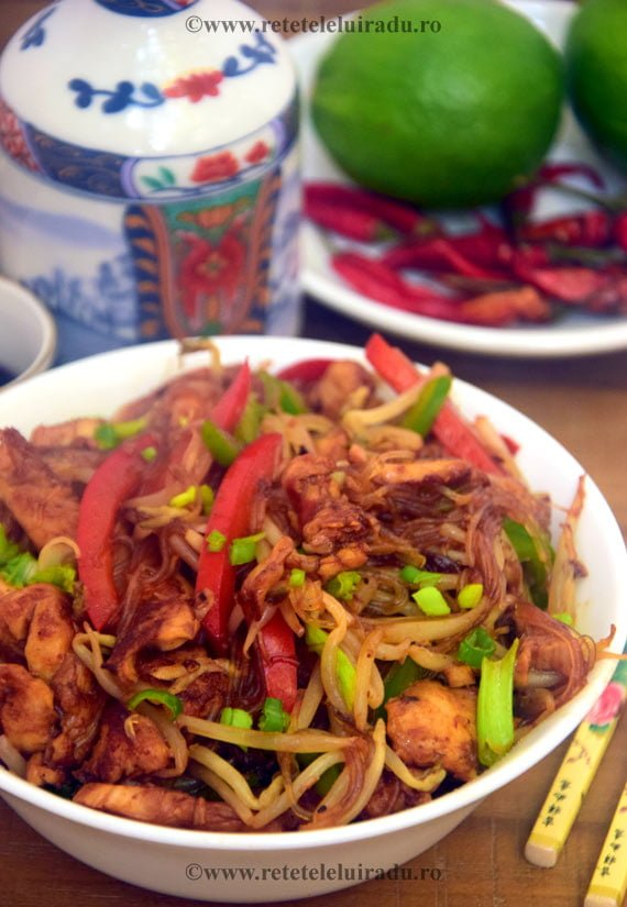 Pui chow mein