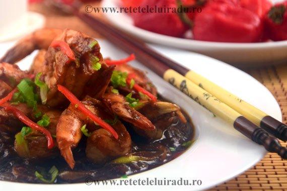 Sambal Udang - Creveti cu sos de ardei iuti