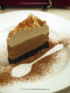 tort de ciocolata in trei culori - Tort de ciocolata in trei culori 8 - Retetele lui Radu