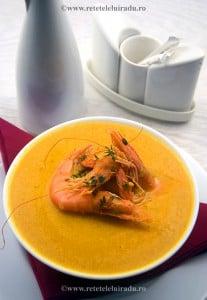 Supa de creveti cremoasa in stil flamand - Supa de creveti cu smantana, in stil flamand 1 - Retetele lui Radu