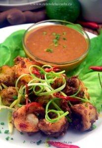 Udang bumbu kacang Creveti cu sos de arahide - Udang bumbu kacang - Creveti cu sos de arahide 96 - Retetele lui Radu