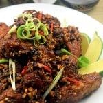 Dakgangjeong – Pui crocant, dulce-picant