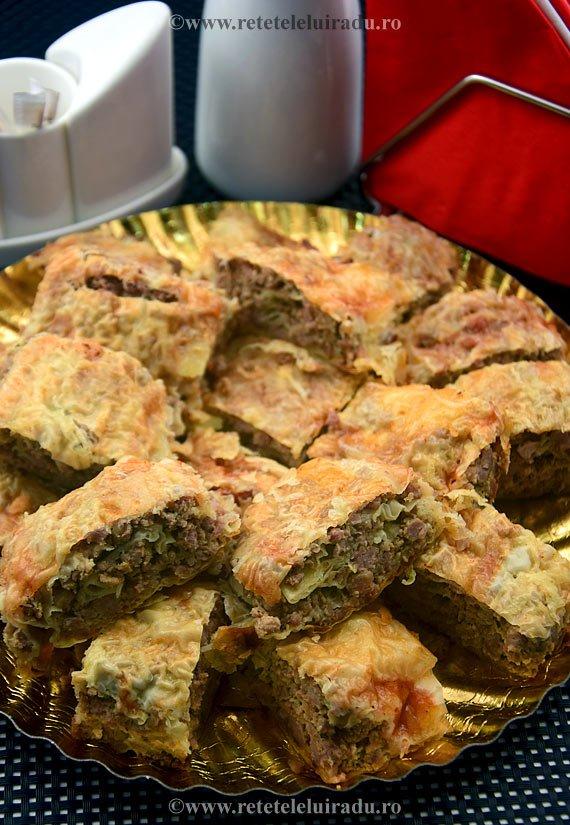 Placinta cu carne in stil thailandez