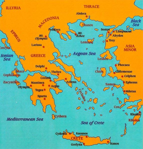 La masă cu strămoşii - Grecia Antică (3)