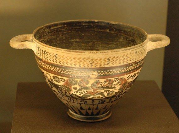 skyphos - La masă cu strămoşii - Grecia Antică (2) 58 - Retetele lui Radu