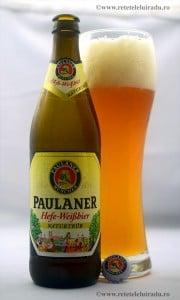 Paulaner Hefe Weissbier - Paulaner Hefe Weissbier 87 - Retetele lui Radu