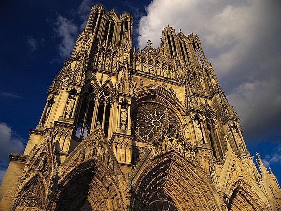 Catedrala din Reims - sursa foto: famouswonders.com